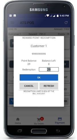 Android Restaurant POS app