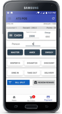 Restaurant POS Billing Software on Android